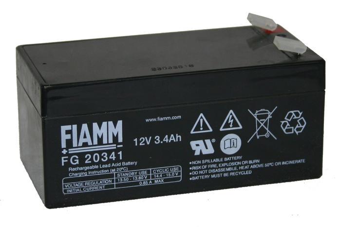 Аккумуляторные батареи FIAMM FG20341
