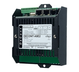 Программируемый контроллер ДЕКОНТ-А9E2-16G