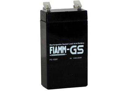 Аккумуляторные батареи FIAMM FG10381