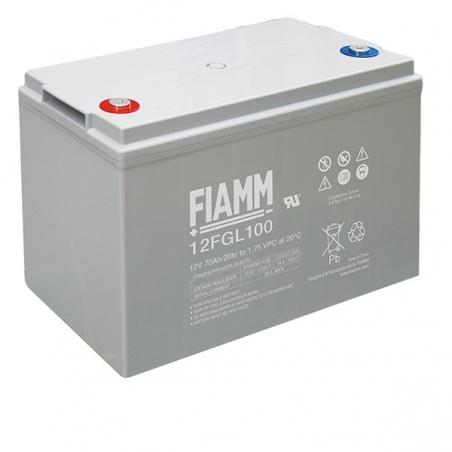 Аккумуляторные батареи FIAMM 12FGL120 - 17417