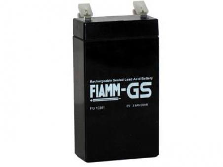 Аккумуляторные батареи FIAMM FG10381 - 17398