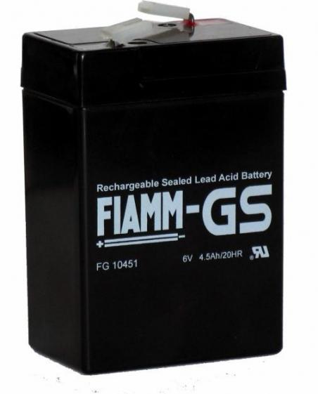 Аккумуляторные батареи FIAMM FG10451 - 17399